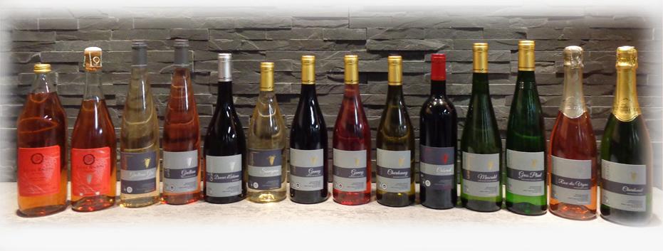 Les vins du domaine Grandjouan - vin rouge, rosé et blanc